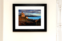 Dawn at The Bathing House_Framed Print